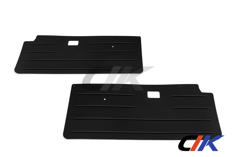 bmw e30 coupe t rverkleidung vorne aluminium schwarz. Black Bedroom Furniture Sets. Home Design Ideas